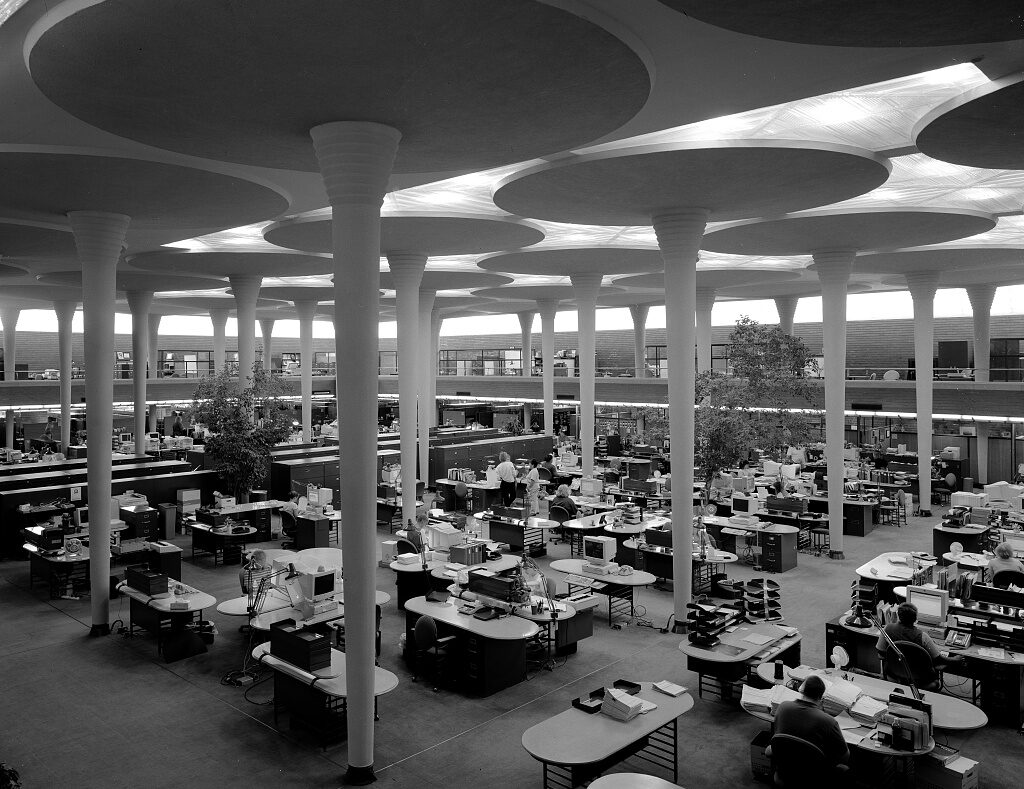 Johnson Wax Headquarters, Racine, Wisconsin
