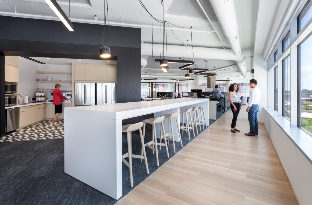 Offices Fire Up Kitchens And Put Breakrooms On Ice Out Of Office
