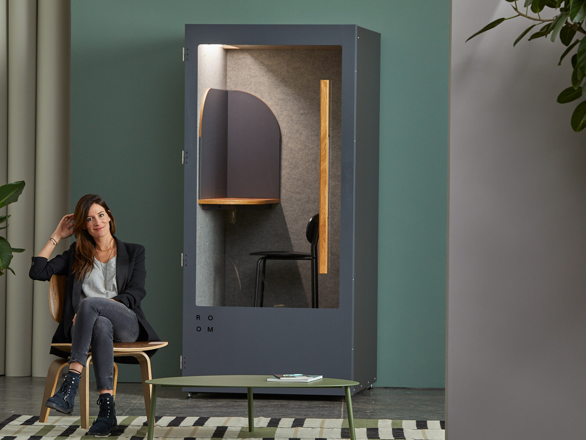Crafting ROOM's New Phone Booth: Big Imagination Transforms the Open Office